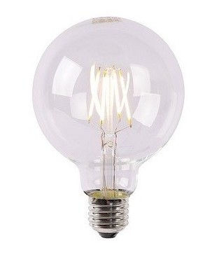 Ampoule E27 LED décorative ronde