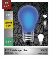 Ampoule LED E27 orange